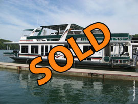 2000 Sharpe 16 x 70WB Houseboat For Sale on Norris Lake TN