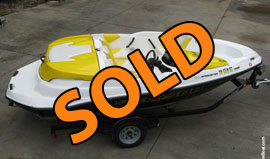 2011 SeaDoo 150 Speedster with 255HP For Sale on Norris Lake TN