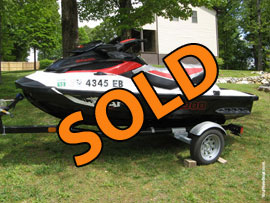 2011 Sea Doo Wake Pro 215 Supercharged PWC For Sale near Norris Lake TN