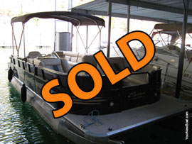 2012 Bentley 250 Party Cruise Pontoon with 115HP Yamaha 4-Stroke Outboard Motor For Sale on Norris Lake TN