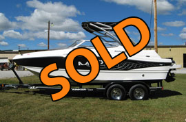 2012 Rinker MTX 220 Ski Boat For Sale on Norris Lake Tennessee