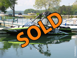 2013 Axis A22 Vandall Edition Wake Boat For Sale on Norris Lake TN