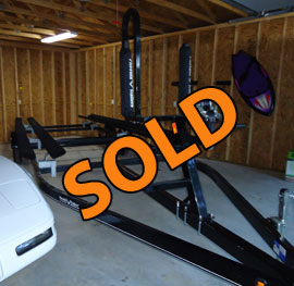4000lb Hydro Hoist Type A Used Boat Lift For Sale on Norris Lake TN