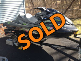 2013 Yamaha FZR Supercharged 210HP Waverunner For Sale near Richlands Virginia