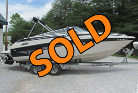 2001 Crownline 230 Bowrider For Sale on Norris Lake Tennessee