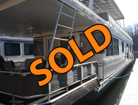 2001 Fantasy 16 x 70WB Houseboat For Sale