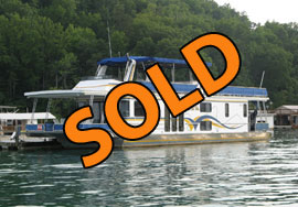 2001 Lakeview 16 x 65WB Houseboat For Sale on Norris Lake at Shanghai Resort