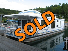 2001 Sailabration 14 x 50 WB Houseboat  For Sale