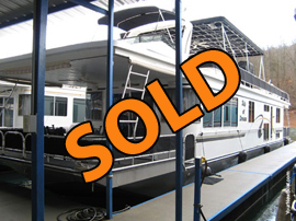2002 Fantasy 16 x 68WB Houseboat For Sale
