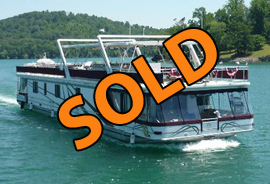 2002 Sumerset 20 x 90 WB Houseboat For Sale on Norris Lake TN