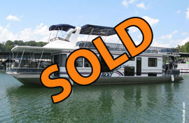 2002 Sunstar 15 x 63WB Houseboat For Sale in Kentucky - Free Delivery Available to TN