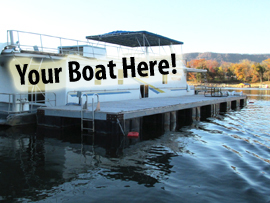 12 x 81 Dock For Sale with Transferable Mooring on Norris Lake Tennessee