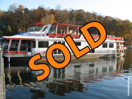 2003 Lakeview 16 x 75WB Houseboat  For Sale