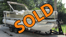2003 Suntracker 22 PartyBarge Recency Edition For Sale Near Lake Cumberland KY