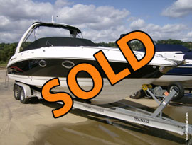 2004 Chaparral 285SSI Express Cabin Cruiser with A/C & a Trailer For Sale on Norris Lake TN