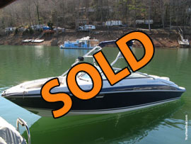 2004 FourWinns 250 Horizon Open Bow Bowrider with Wakeboard Tower and Trailer For Sale on Norris Lake Tennessee