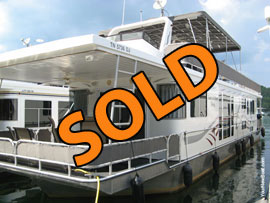 2004 Horizon 16 x 65WB Houseboat For Sale on Norris Lake