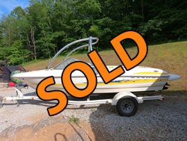 2005 Maxum 1900SR3 Bowrider with Monster Tower and Trailer For Sale near Norris Lake TN