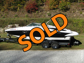 2006 Crownline 240EX Bowrider For Sale near Norris Lake TN
