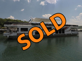 2006 Sumerset 20 x 90WB Reverse Layout Aluminum Hull Houseboat For Sale on Norris Lake TN at Springs Dock Resort