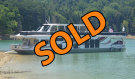 2006 Sumerset 20 x 90 WB Reverse Layout Houseboat For Sale on Norris Lake TN