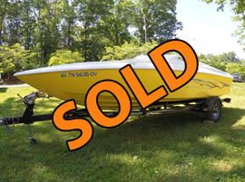 2007 Baja 20 Outlaw Powerboat For Sale on Norris Lake Tennessee