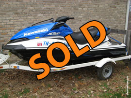 2007 Kawasaki UltraLX Jet Ski For Sale in East Tennessee