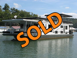 2007 Lakeview 16 x 68WB Rental Houseboat For Sale on Norris Lake TN
