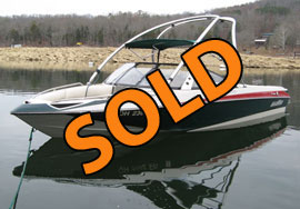 2007 Malibu Response LXI Open Bow Ski Boat with Tower For Sale on Norris Lake in East Tennessee