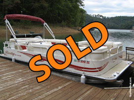 2008 Bentley 220 Cruise Pontoon Boat For Sale on Norris Lake