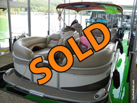 2008 Suntracker 25 Party Barge Pontoon Boat For Sale on Norris Lake TN