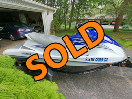 2008 Yamaha VX Waverunner PWC For Sale in East Tennessee near Knoxville