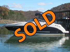 2009 Chaparral Signature 250 Cruiser For Sale on Norris Lake at Waterside Marina