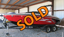2009 Four Winns H210SS Bowrider with Volvo Penta 300 V8 Engine and Trailer For Sale near Norris Lake in Tennessee
