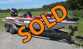 2009 Stratos 294XL Bass Boat with 200HP Evinrude ETEC Outboard Motor For Sale near Norris Lake TN