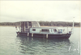 1961 JeffBoat 33' Commercial Fishing Charter Boat For Sale on Norris Lake