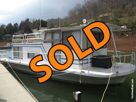 1968 Nautiline 12 x 32 Houseboat For Sale on Norris Lake TN