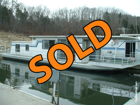 1979 Sumerset 14 x 58 Houseboat For Sale on Norris Lake