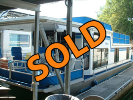 1987CarolinaKentucky Houseboat For Sale