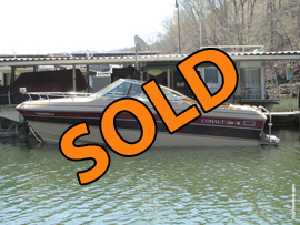 1987 Cobalt Condesa Cuddy Cabin For Sale on Norris Lake Tennessee at Norris Dam Marina