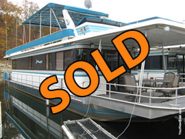 1989 Stardust 14 x 65 Houseboat For Sale on Norris Lake