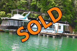 1990 Sumerset 14 x 64 WB Houseboat For Sale on Norris Lake in East TN