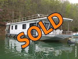 1991 Sumerset 14 x 65 with Catwalks Houseboat For Sale on Norris Lake
