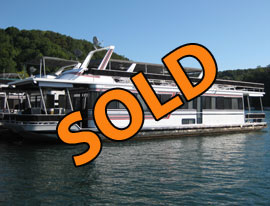 1991 Sumerset 14 x 65WB Houseboat For Sale on Norris Lake
