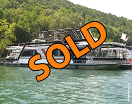 1991 Sumerset 14 x 65WB Houseboat For Sale on Norris Lake TN