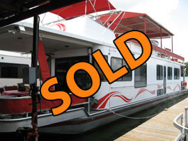 1992 Sumerset 14 x 65 WB Houseboat  For Sale on Boone Lake, TN