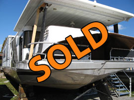 1993 Sumerset 16 x 70WB Aluminum Hull Project Fixer Upper For Sale near Knoxville Tennessee