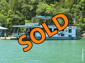 1994 Lakeview 15 x 67WB 4 Bedroom Houseboat and 12 x 65 Dock w/Shore Power For Sale on Norris Lake