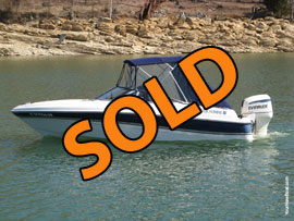 1997 FourWinns Horizon RX Fish and Ski Boat For Sale on Norris Lake Tennessee