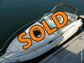 1997 SeaRay 250 Sundancer Fresh Water Aft Cabin Cruiser For Sale on Norris Lake Tennessee